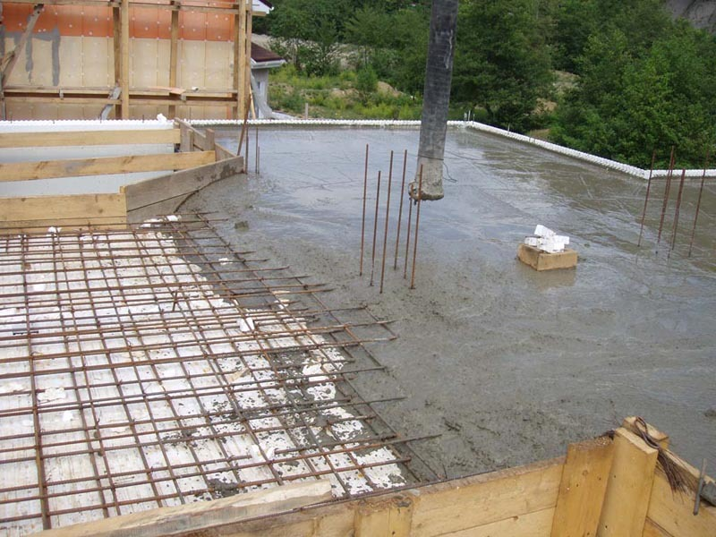 буду заливка бетоном монолит материки и диаметр арматуры основные материала
